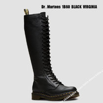 Dr Martens★1B60 BLACK VIRGINIA★20ホールブーツ★ジッパー