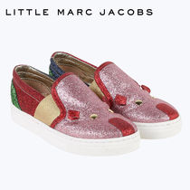 【SALE】≪Little Marc Jacobs≫ ピンクマウスラメスニーカー