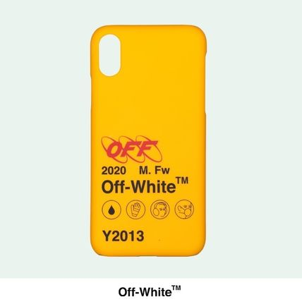 Off-White スマホケース・テックアクセサリー [OFF-WHITE] Industrial Y013 iPhone XS Max Case