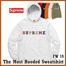 Supreme The Most Hooded Sweatshirt AW 19 FW 19 WEEK 1