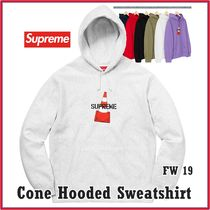 Supreme Cone Hooded Sweatshirt AW 19 FW 19 WEEK 1