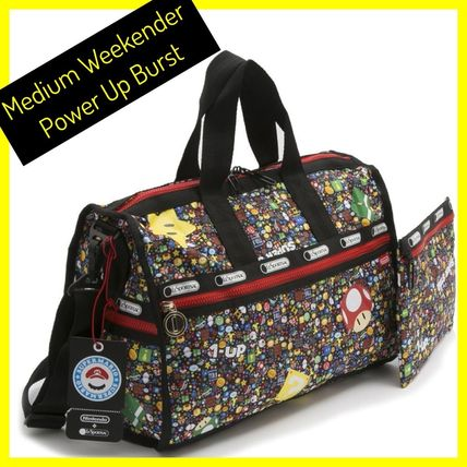 LeSportsac / Weekender / x Nintendo POWER UP BURST- Medium