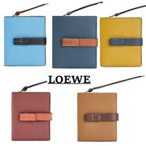 LOEWE新作 Compact Zip Wallet コンパクトジップウォレット 5色