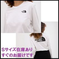 【関送込】◇The North Face◇Easy Long sleeve Tャツ ホワイト