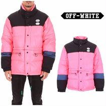 【OFF WHITE】Bicolor Puffer Jacket