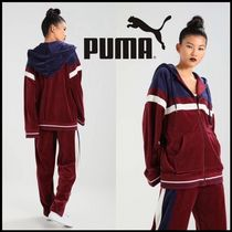 送料込★PUMA FENTY by Rihanna Velour Hooded Track ジャケット