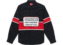 Supreme High Powered Work Shirt AW 19 FW 19  WEEK 1