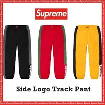 Supreme  Side Logo Track Pant AW 19 FW 19 WEEK 1