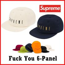 Supreme  Fuck You 6-Panel AW 19 FW 19 WEEK 1
