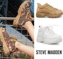 新作Sale【個性的】Steve Madden Junior厚底スニーカー