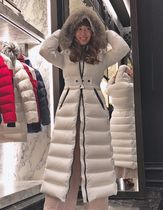 MONCLER★19/20AW最新作 ファー付ロングダウンHUDSON★関税込み