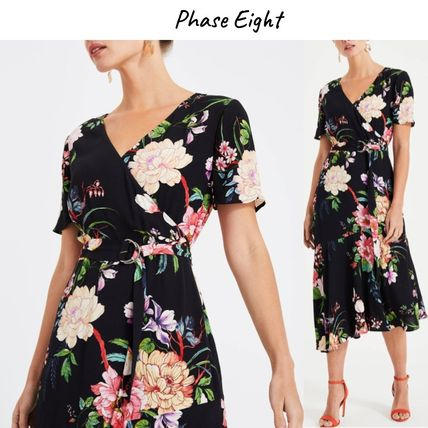 Phase Eight ワンピース Phase Eight(フェイズ エイト) 在庫僅か!フローラルワンピース