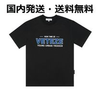 【国内発送・送料無料】VETEZE Authentic Half T-Shirts - black