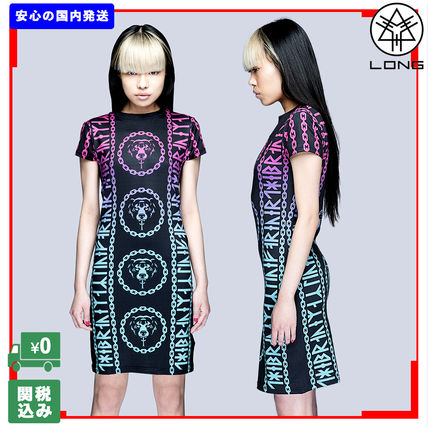 LONG CLOTHING ワンピース 国内発送 LONG CLOTHING   MISHKA 2.0 DEATH ADDER CHAIN DRESS