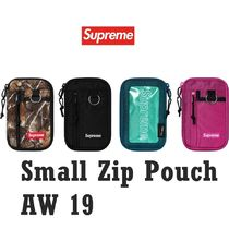 Supreme Small Zip Pouch AW 19 FW 19 WEEK 1