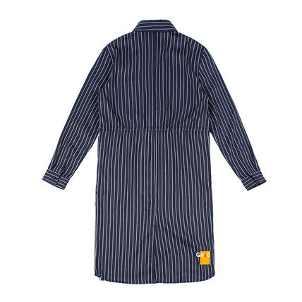 ROMANTIC CROWN ワンピース ROMANTIC CROWN★シャツワンピース GNAC STRIPE SHIRT DRESS 2色(8)