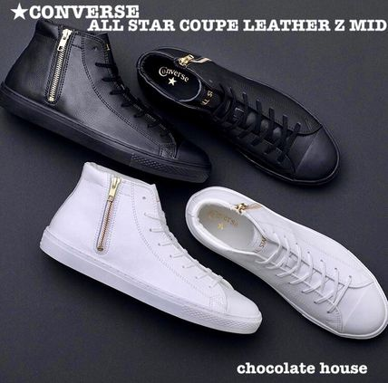 CONVERSE スニーカー 【CONVERSE】ALL STAR COUPE LEATHER Z MID クップ レザー