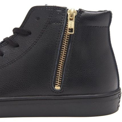 CONVERSE スニーカー 【CONVERSE】ALL STAR COUPE LEATHER Z MID クップ レザー(5)