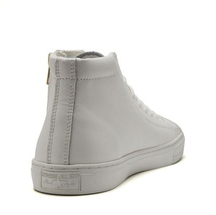 CONVERSE スニーカー 【CONVERSE】ALL STAR COUPE LEATHER Z MID クップ レザー(7)