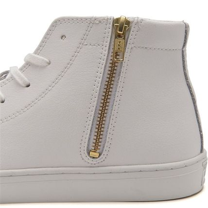 CONVERSE スニーカー 【CONVERSE】ALL STAR COUPE LEATHER Z MID クップ レザー(8)