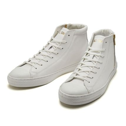 CONVERSE スニーカー 【CONVERSE】ALL STAR COUPE LEATHER Z MID クップ レザー(9)