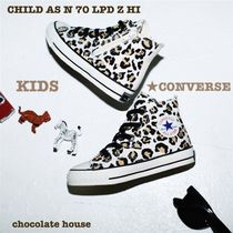 キッズ【CONVERSE】CHILD AS N 70 LPD Z HI レオパード柄