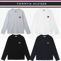 Tommy Hilfiger★男女兼用 BADGE LOGO LONG SLEEVES  4色