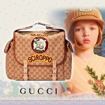 ◆GUCCI◆大人もOK◆Gucci Sciroppo GG キャンバス バックパック