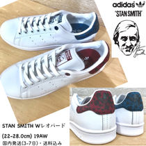 19AW☆レオパード!! 国内発送★ adidas STAN SMITH W★ 赤 青