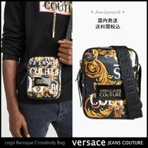Versace Jeans☆ロゴ バロック クロスボディバッグ [送関込]
