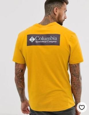 Columbia North Cascades t-shirt in yellow