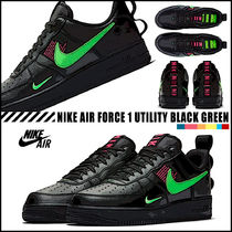 【NIKE】★すぐに完売★Air Force 1 LV8  Black Hyper Pink ★