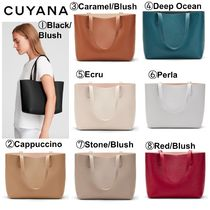 【CUYANA】★日本未入荷★Small Structured Leather Tote