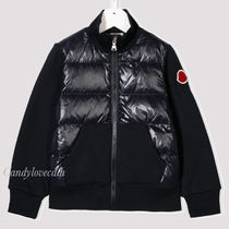 MONCLER(モンクレール) キッズアウター MONCLER KIDS ダウンxスウェットジップトップ