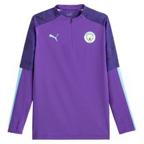 PUMA Manchester City Training Top with Half-Zip