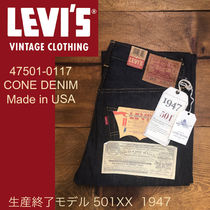 ● LEVI'S VINTAGE ●人気 Made in USA 501XX 47501 デニム 即発
