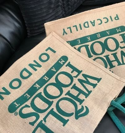 WHOLE FOODS MARKET ライフスタイルその他 すぐお届け☆ギフトに是非 ロンドン限定エコバック WHOLE FOODS(2)
