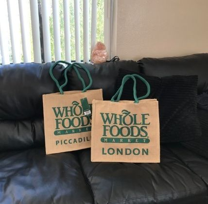 WHOLE FOODS MARKET ライフスタイルその他 すぐお届け☆ギフトに是非 ロンドン限定エコバック WHOLE FOODS(3)