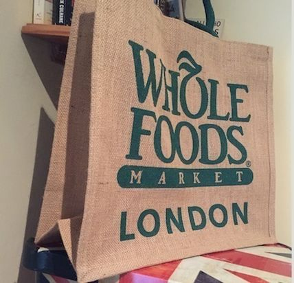 WHOLE FOODS MARKET ライフスタイルその他 すぐお届け☆ギフトに是非 ロンドン限定エコバック WHOLE FOODS(6)