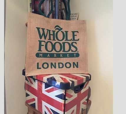 WHOLE FOODS MARKET ライフスタイルその他 すぐお届け☆ギフトに是非 ロンドン限定エコバック WHOLE FOODS(7)