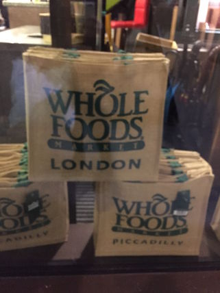 WHOLE FOODS MARKET ライフスタイルその他 すぐお届け☆ギフトに是非 ロンドン限定エコバック WHOLE FOODS(8)