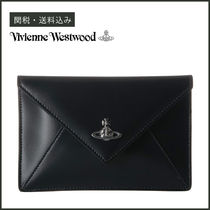 【Vivienne Westwood】 Private Small Envelope Pouch レザー
