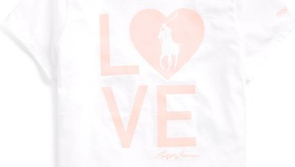 Ralph Lauren Tシャツ・カットソー 新作♪ 国内発送 3色 Pink Pony Graphic Jersey Tee(2)