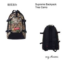 確保済【Supreme】Tree Camo Backpack