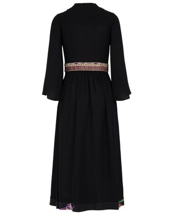 ETRO ワンピース 【ETRO】Viscose and silk long dress(4)