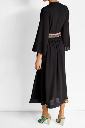 ETRO ワンピース 【ETRO】Viscose and silk long dress(7)