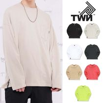TWN★オーバーフィットPOCKET LINE LONG SLEEVE 7カラーSTLT3211