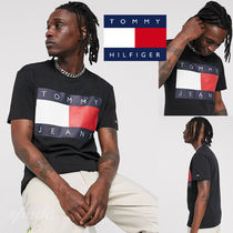 SALE【Tommy Jeans】半袖 ロゴ Tシャツ ブラック / 送料無料