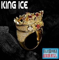 LA発ストリート★King Ice★HipHopリング CZ Crown