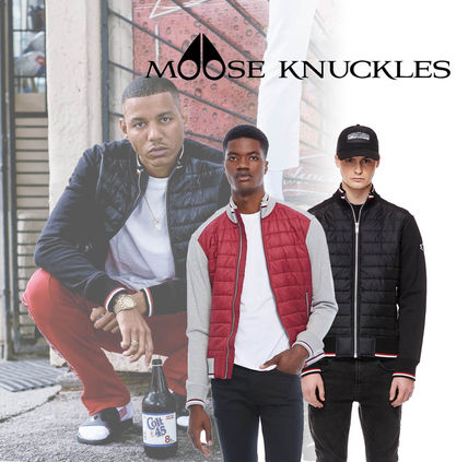 MOOSE KNUCKLESスウェットジャケット★2Color
